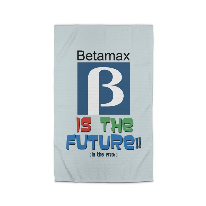 Betamax is the future!! (in the 70s) Home Rug by mrdelman's Artist Shop