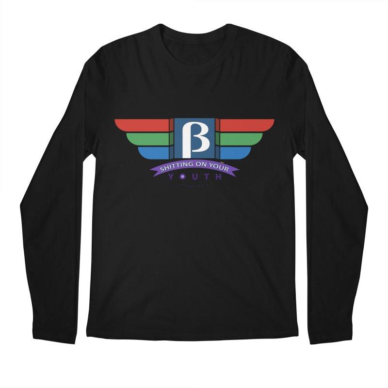 Beta, shitting on your youth since 1975 Men's Longsleeve T-Shirt by mrdelman's Artist Shop