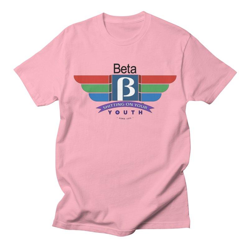 Beta, shitting on your youth since 1975 Men's Regular T-Shirt by mrdelman's Artist Shop