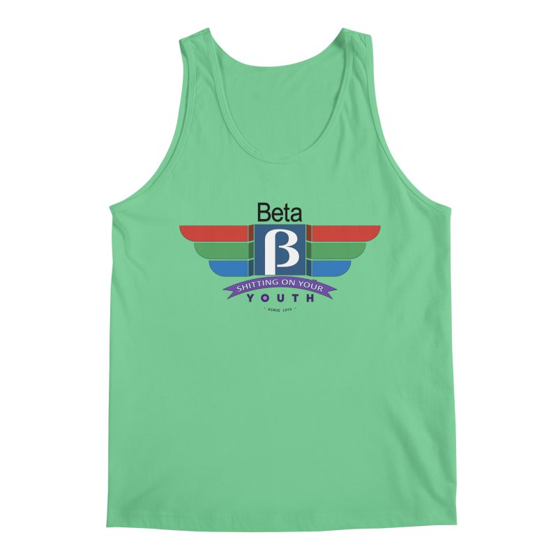 Beta, shitting on your youth since 1975 Men's Regular Tank by mrdelman's Artist Shop