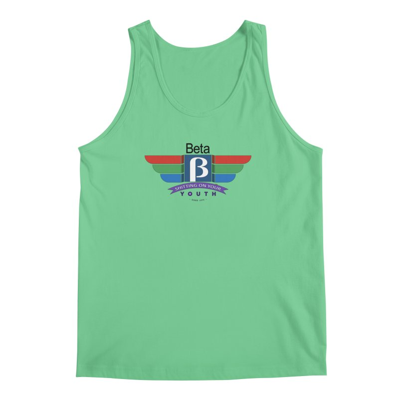 Beta, shitting on your youth since 1975 Men's Tank by mrdelman's Artist Shop