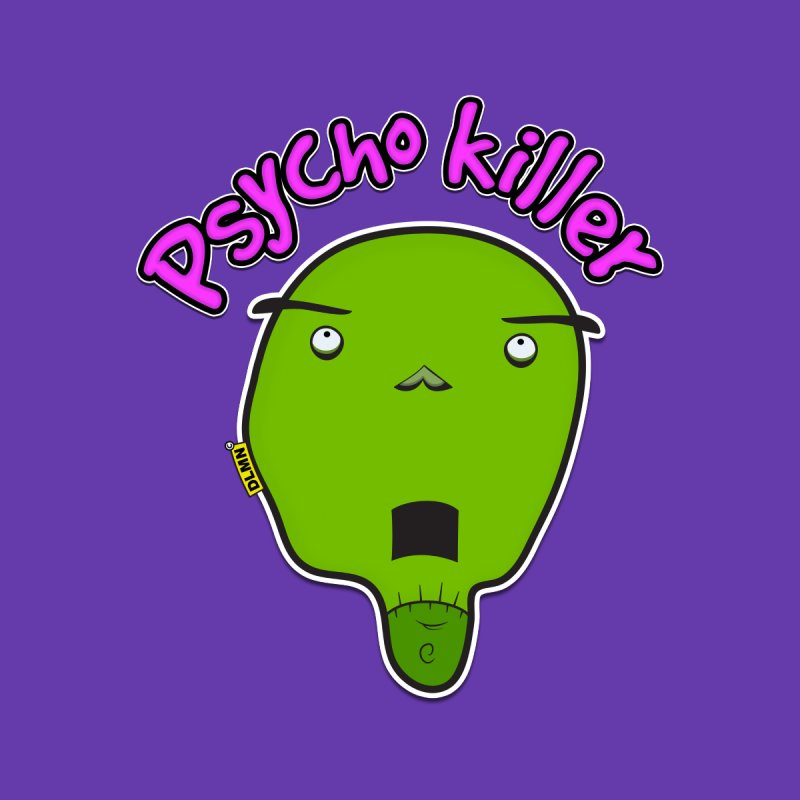 Psycho killer (alone) Women's Zip-Up Hoody by mrdelman's Artist Shop