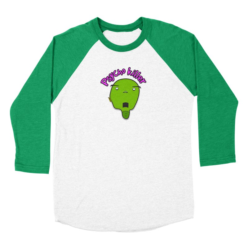 Psycho killer (alone) Women's Longsleeve T-Shirt by mrdelman's Artist Shop