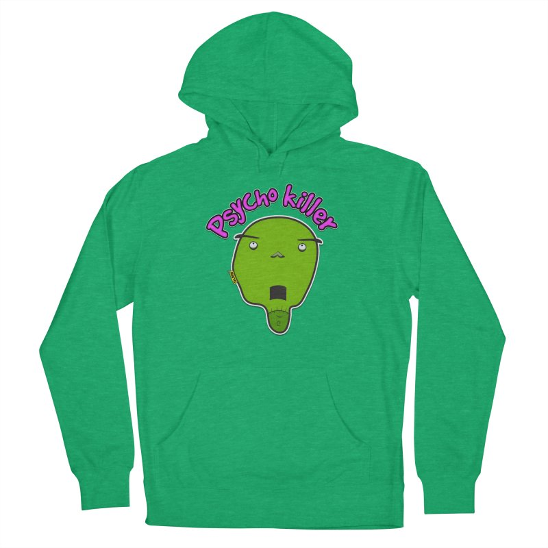 Psycho killer (alone) Men's French Terry Pullover Hoody by mrdelman's Artist Shop