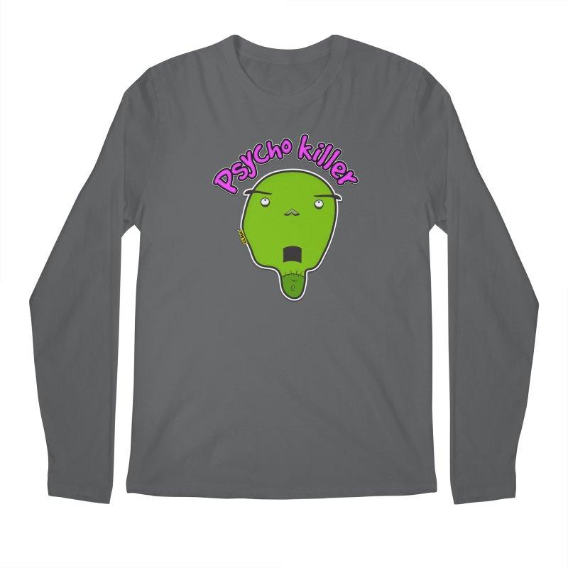 Psycho killer (alone) Men's Longsleeve T-Shirt by mrdelman's Artist Shop