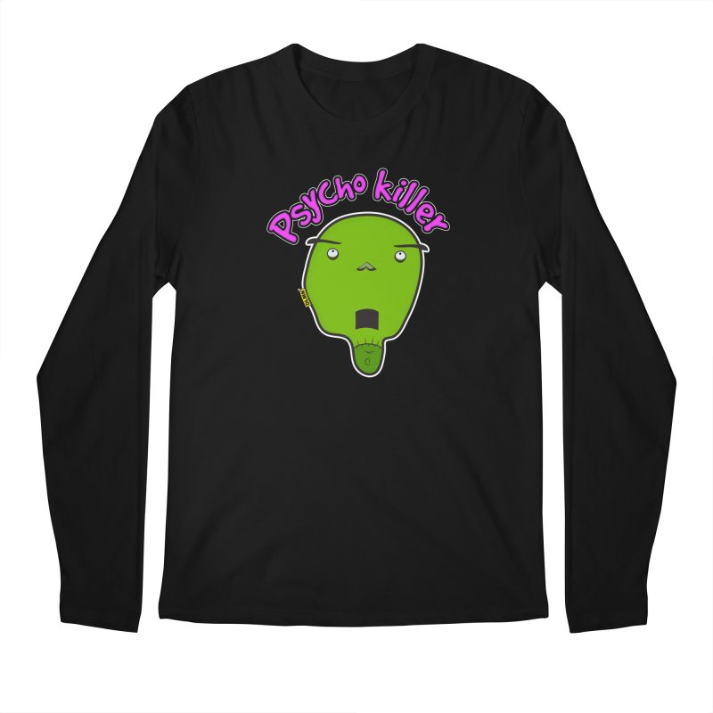 Psycho killer (alone) Men's Regular Longsleeve T-Shirt by mrdelman's Artist Shop