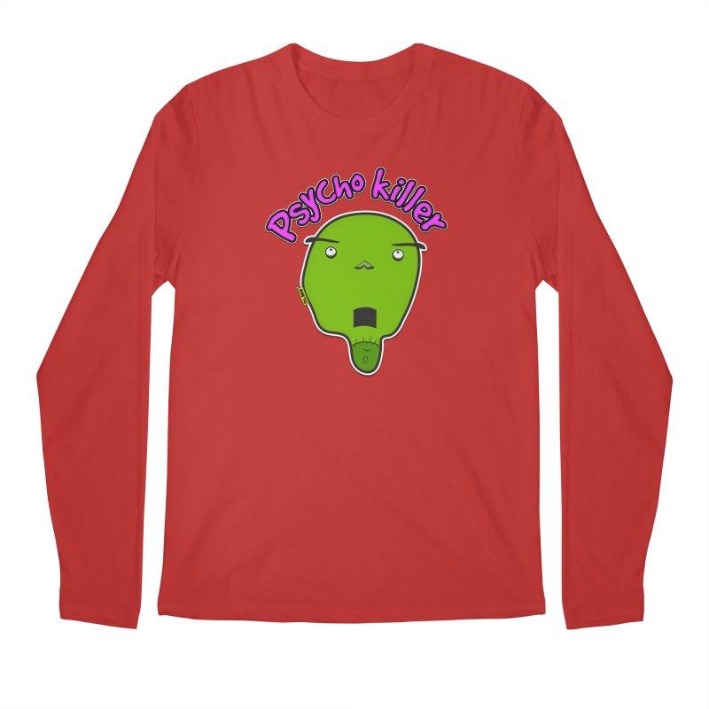 Psycho killer (alone) Men's Regular Longsleeve T-Shirt by mrdelman's Artist Shop