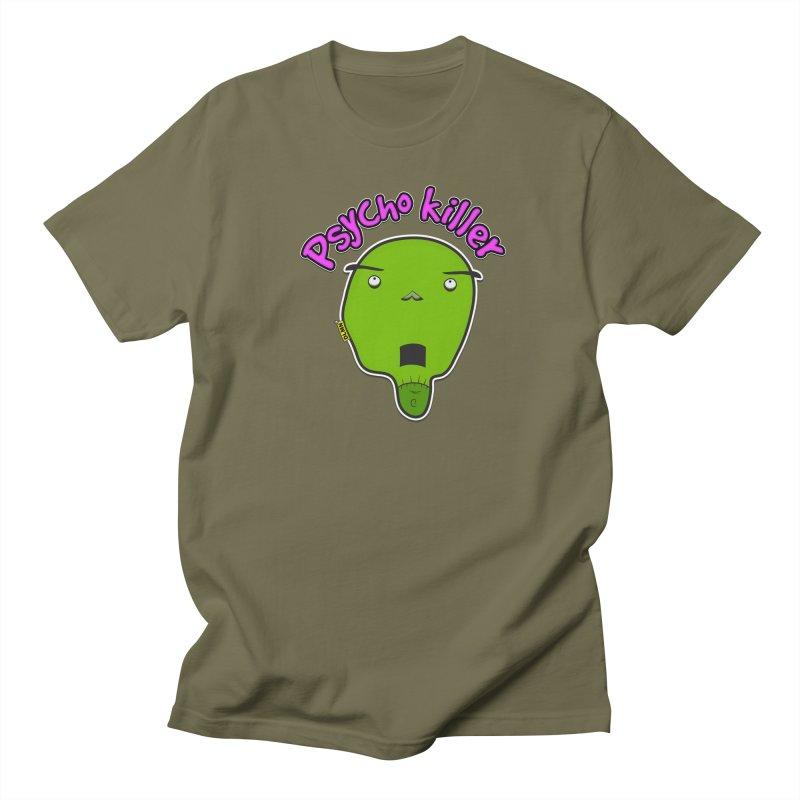 Psycho killer (alone) Men's T-Shirt by mrdelman's Artist Shop