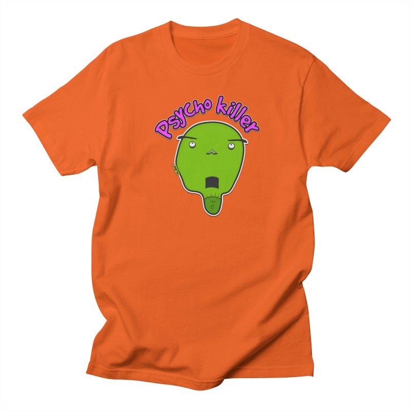 Psycho killer (alone) Men's Regular T-Shirt by mrdelman's Artist Shop