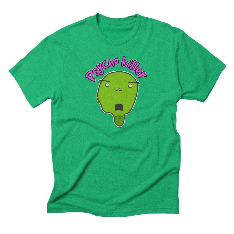 Psycho killer (alone) Men's Triblend T-Shirt by mrdelman's Artist Shop