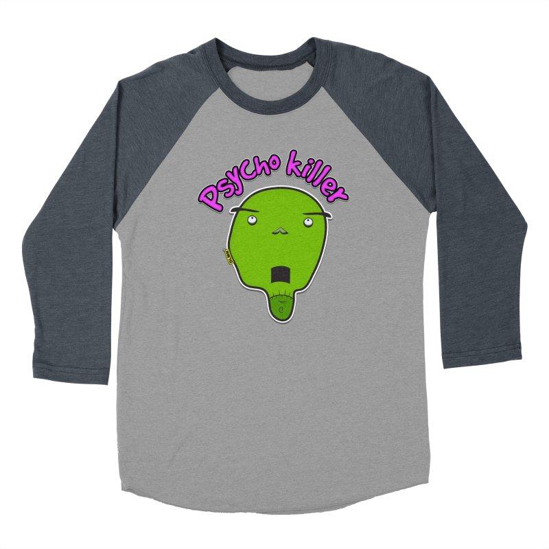 Psycho killer (alone) Men's Baseball Triblend Longsleeve T-Shirt by mrdelman's Artist Shop
