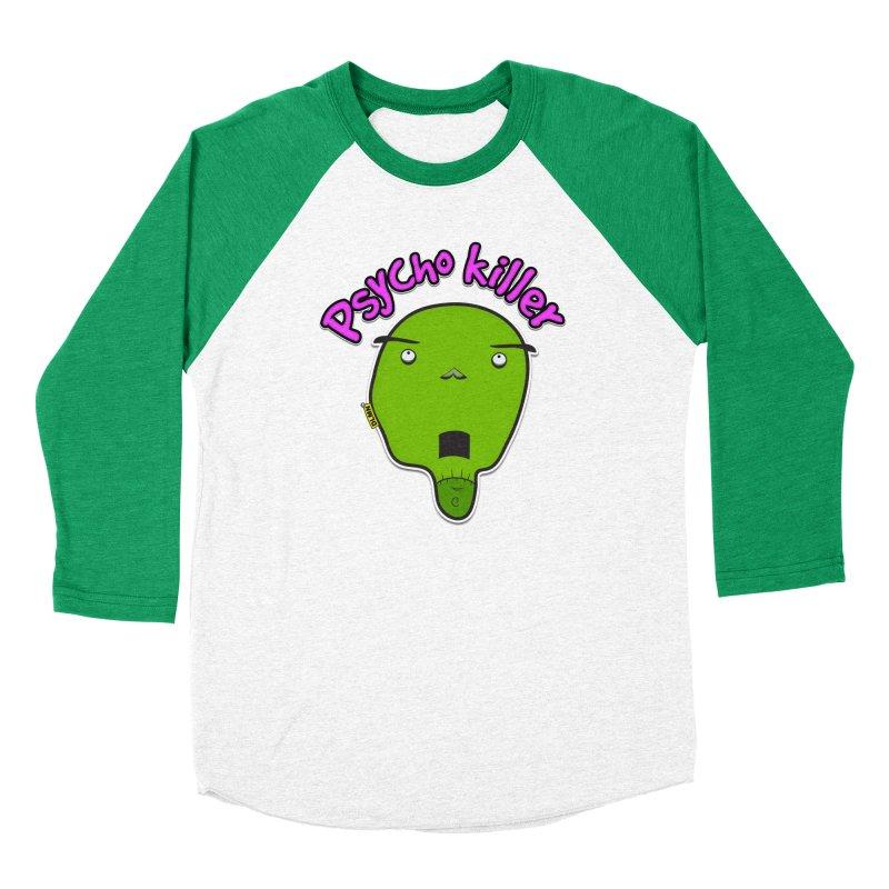 Psycho killer (alone) Men's Baseball Triblend T-Shirt by mrdelman's Artist Shop