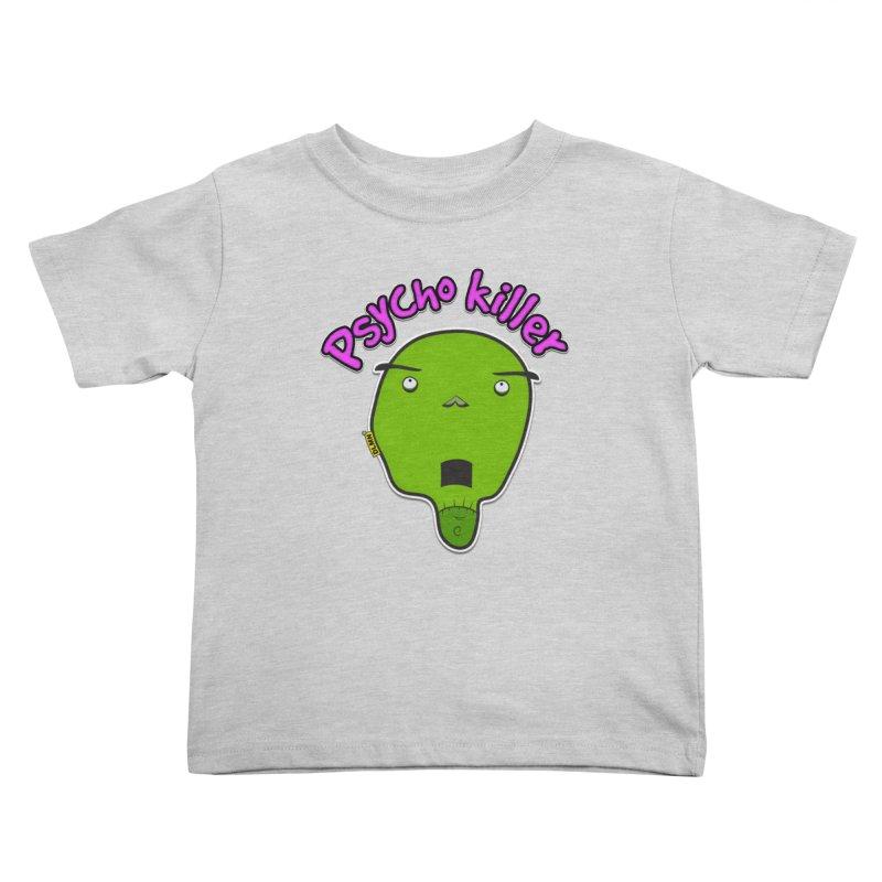 Psycho killer (alone) Kids Toddler T-Shirt by mrdelman's Artist Shop