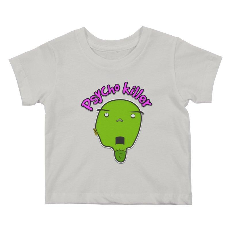 Psycho killer (alone) Kids Baby T-Shirt by mrdelman's Artist Shop