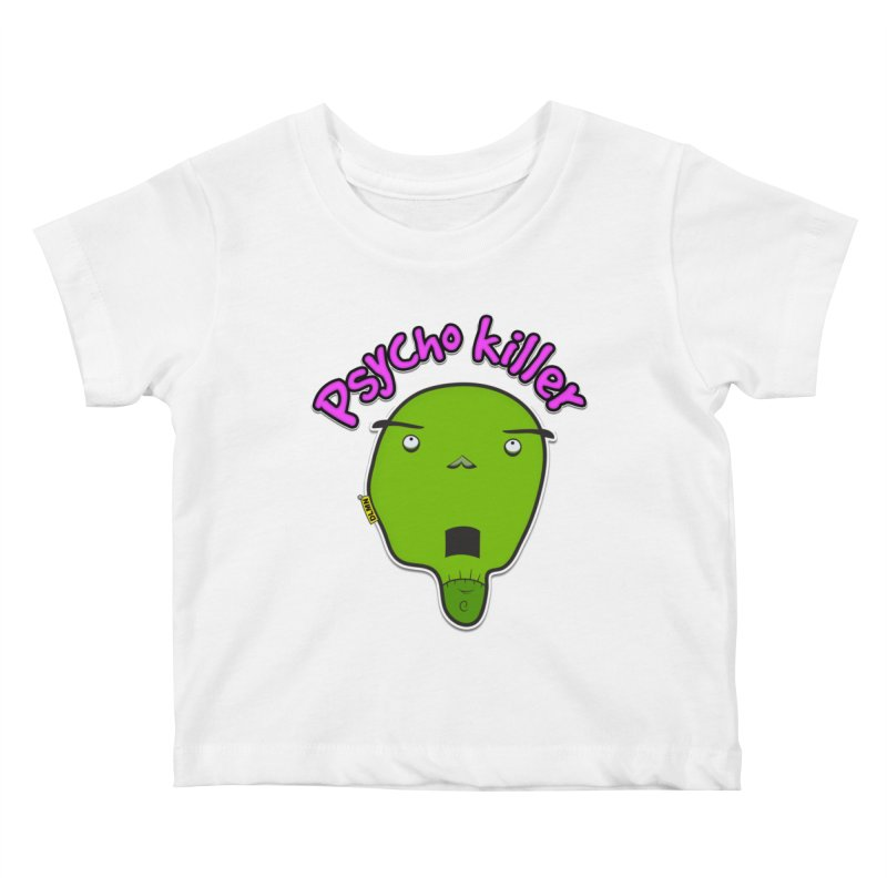 Psycho killer (alone) Kids Baby T-Shirt by mrdelman's Artist Shop