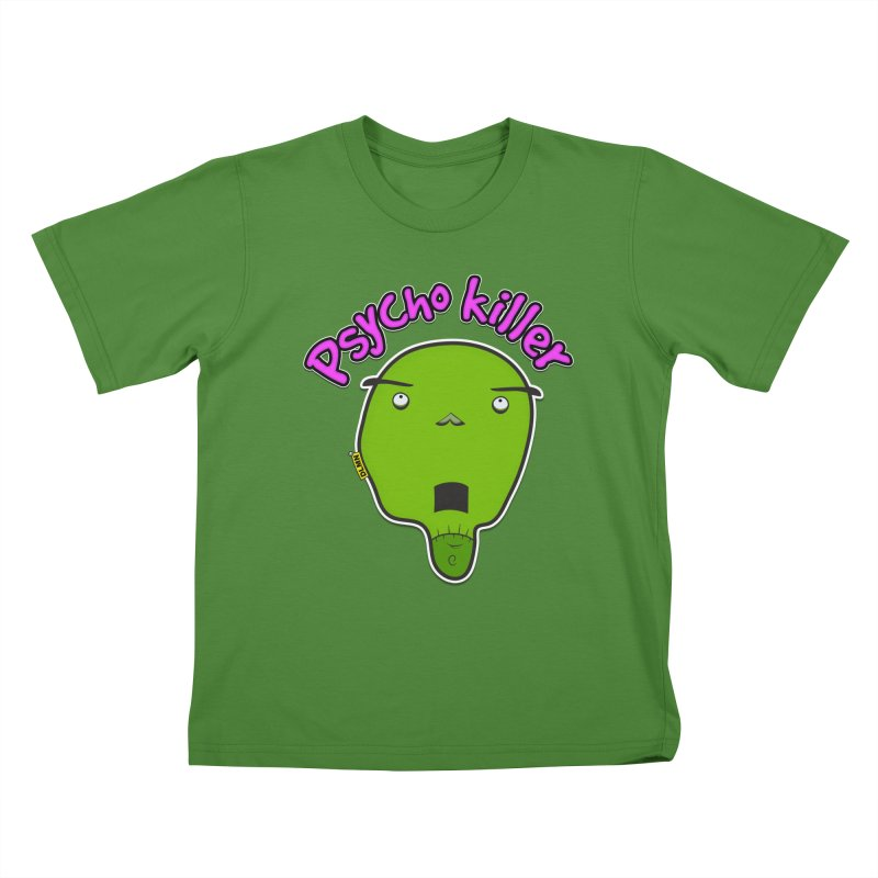 Psycho killer (alone) Kids T-Shirt by mrdelman's Artist Shop