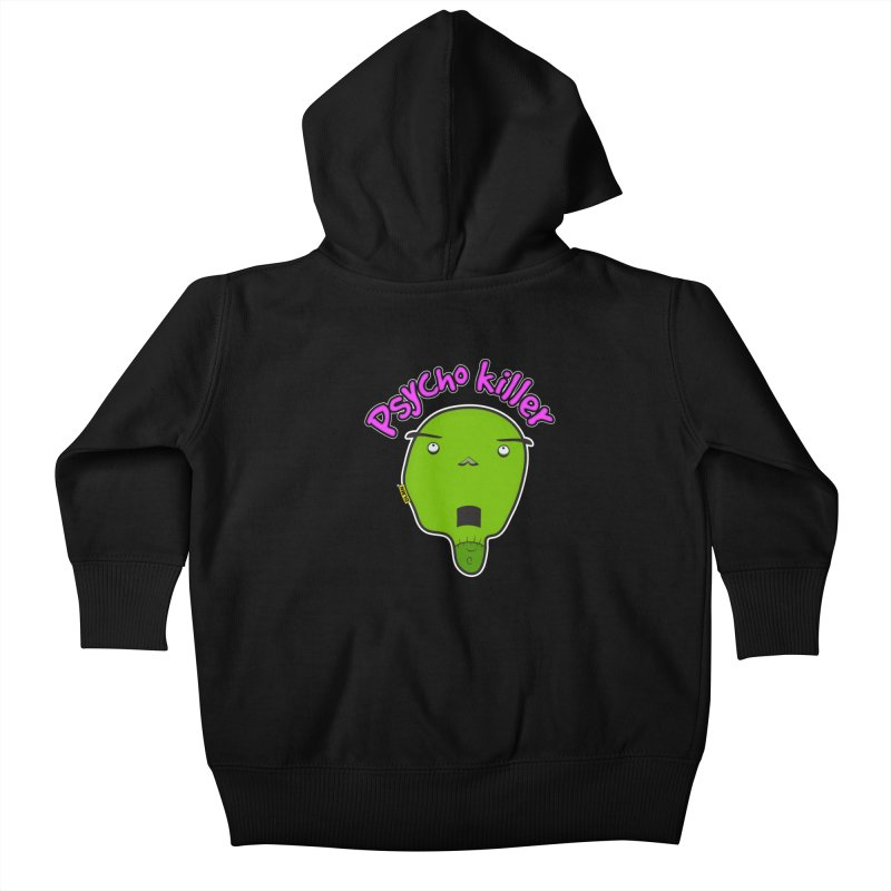 Psycho killer (alone) Kids Baby Zip-Up Hoody by mrdelman's Artist Shop