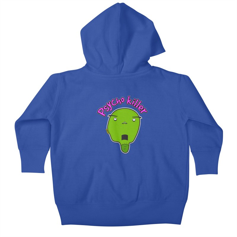 Psycho killer (alone) Kids Baby Zip-Up Hoody by mrdelman's Artist Shop
