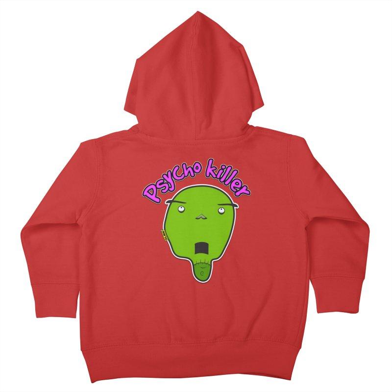 Psycho killer (alone) Kids Toddler Zip-Up Hoody by mrdelman's Artist Shop