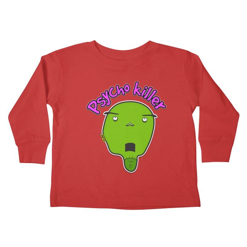 Psycho killer (alone) Kids Toddler Longsleeve T-Shirt by mrdelman's Artist Shop