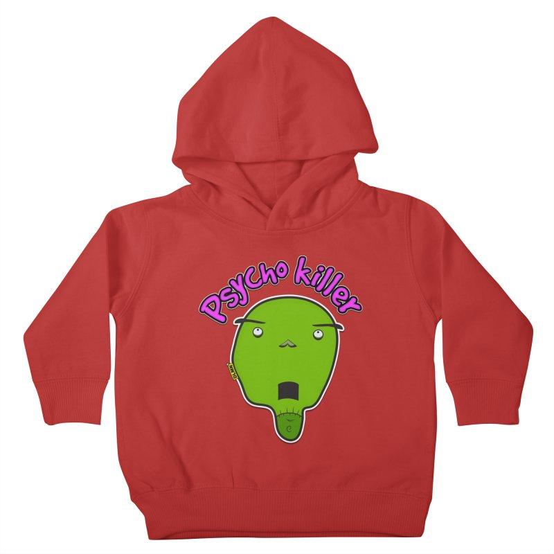 Psycho killer (alone) Kids Toddler Pullover Hoody by mrdelman's Artist Shop