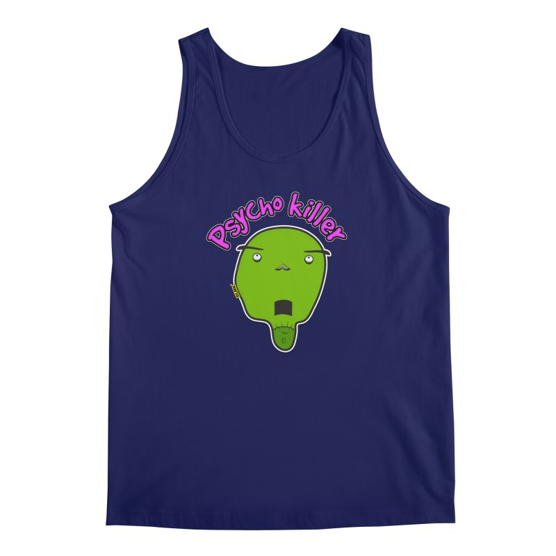 Psycho killer (alone) Men's Regular Tank by mrdelman's Artist Shop