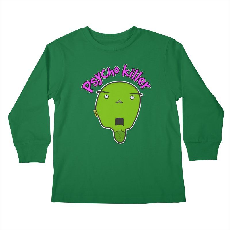 Psycho killer (alone) Kids Longsleeve T-Shirt by mrdelman's Artist Shop
