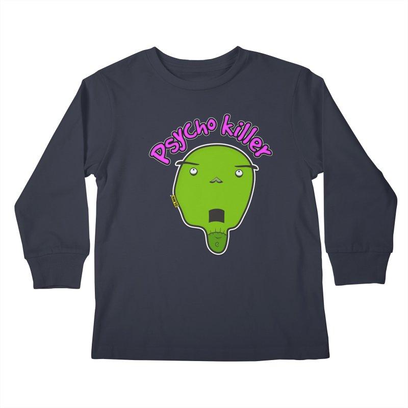 Psycho killer (alone) Kids Longsleeve T-Shirt by mrdelman's Artist Shop