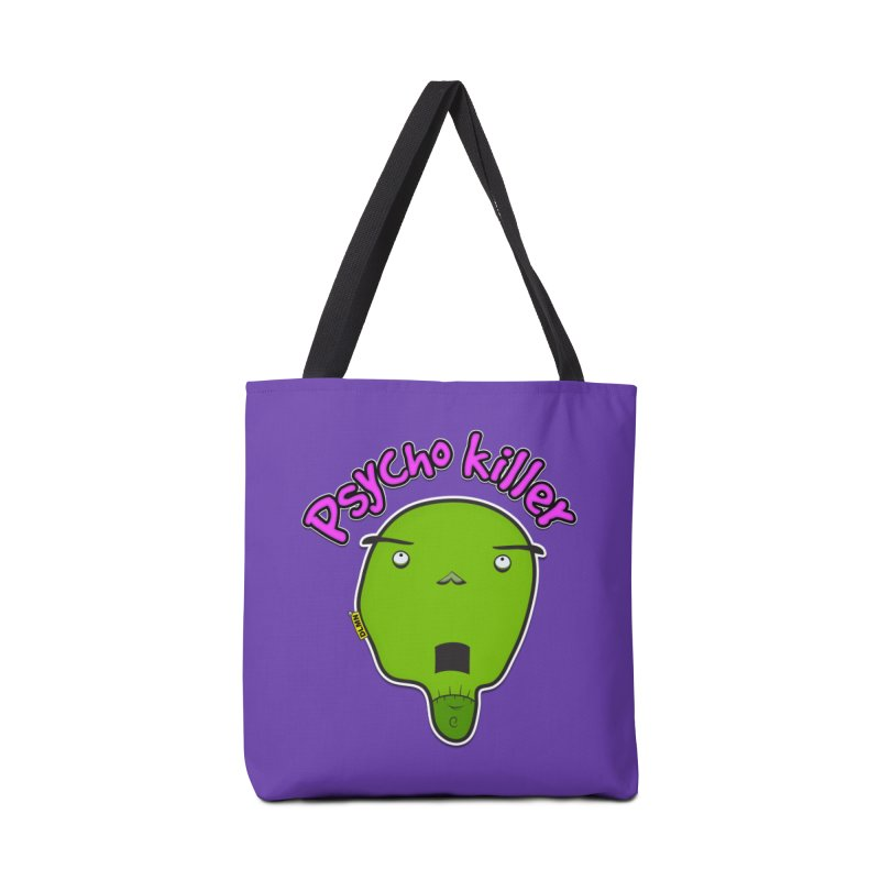 Psycho killer (alone) Accessories Tote Bag Bag by mrdelman's Artist Shop