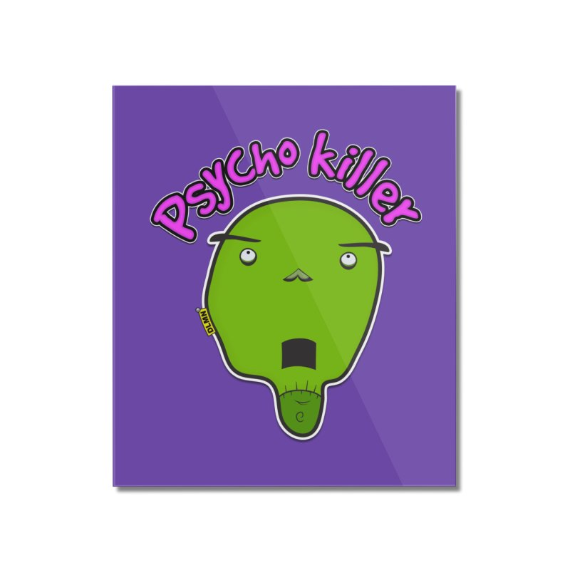 Psycho killer (alone) Home Mounted Acrylic Print by mrdelman's Artist Shop