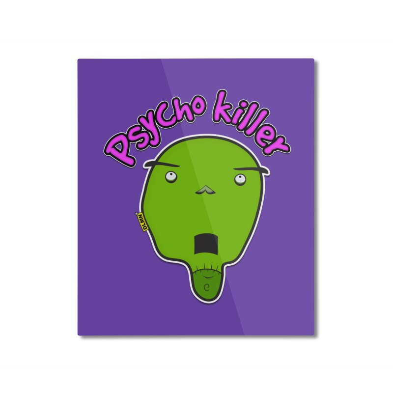 Psycho killer (alone) Home Mounted Aluminum Print by mrdelman's Artist Shop