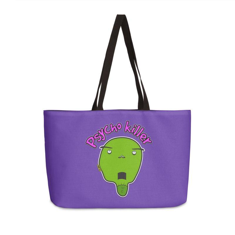 Psycho killer (alone) Accessories Weekender Bag Bag by mrdelman's Artist Shop