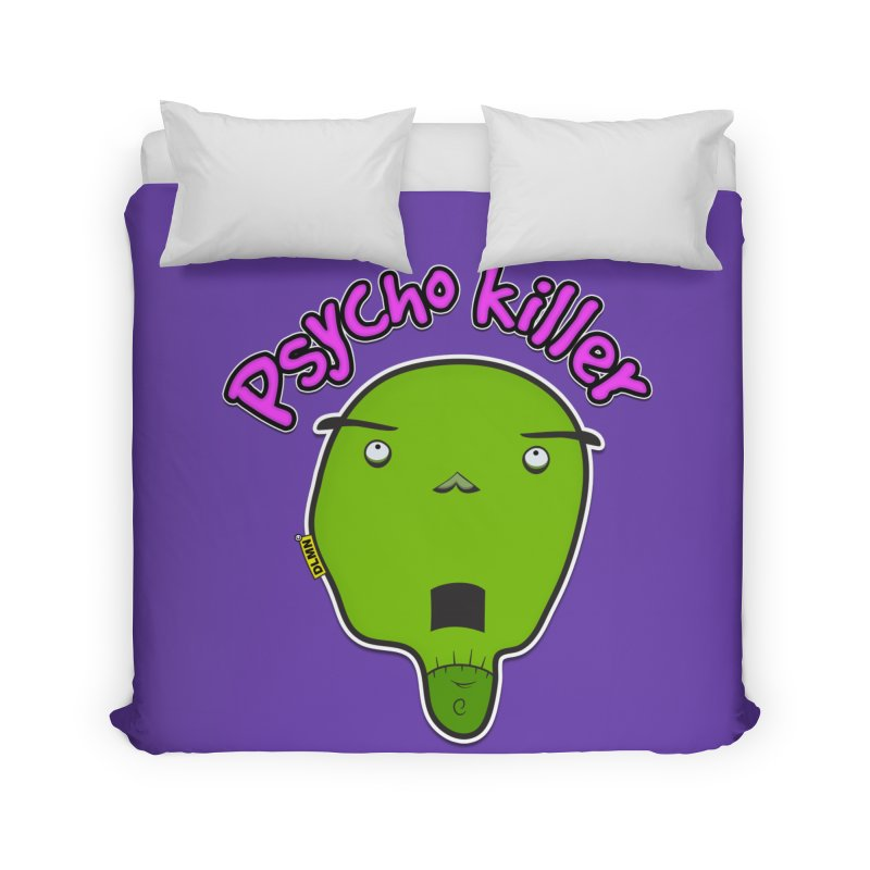Psycho killer (alone) Home Duvet by mrdelman's Artist Shop