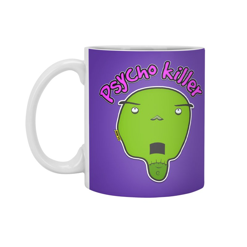 Psycho killer (alone) Accessories Standard Mug by mrdelman's Artist Shop