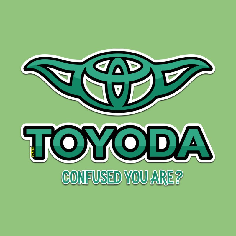 TOYODA ... Confused you are? Home Stretched Canvas by mrdelman's Artist Shop