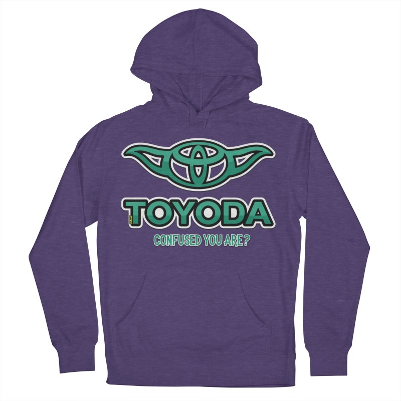 TOYODA ... Confused you are? Men's French Terry Pullover Hoody by mrdelman's Artist Shop