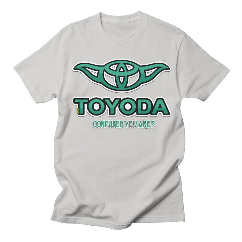 TOYODA ... Confused you are? Men's Regular T-Shirt by mrdelman's Artist Shop