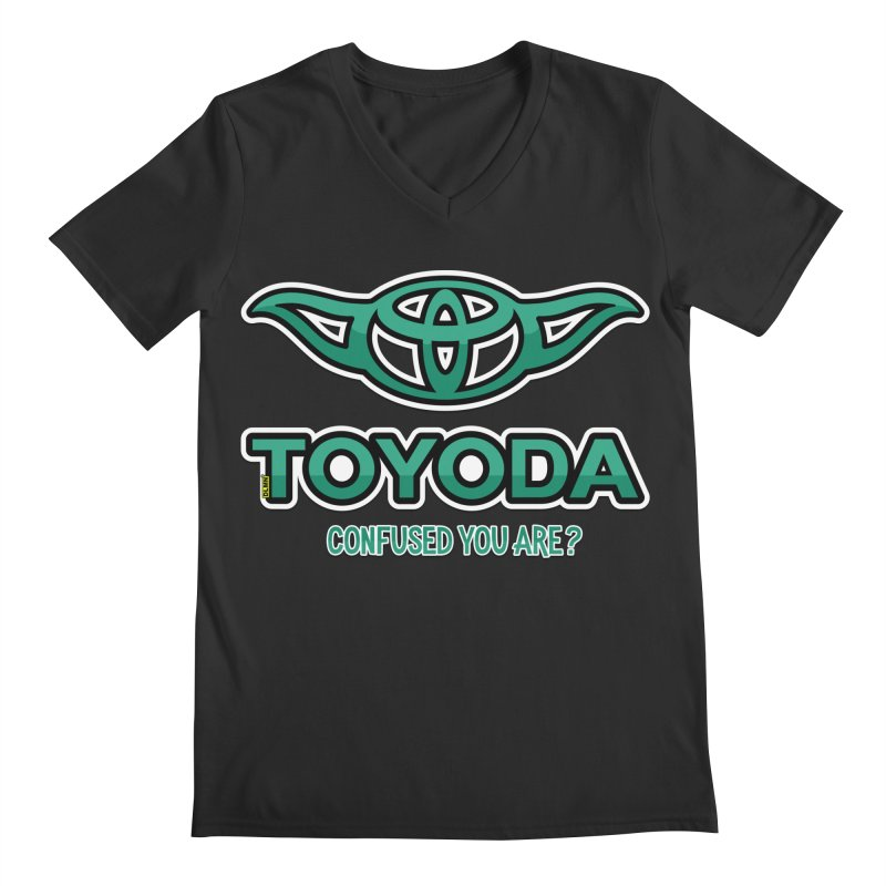 TOYODA ... Confused you are? Men's Regular V-Neck by mrdelman's Artist Shop