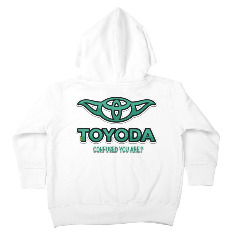 TOYODA ... Confused you are? Kids Toddler Zip-Up Hoody by mrdelman's Artist Shop