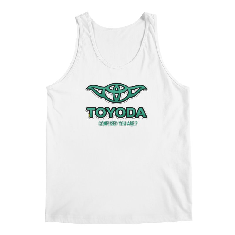 TOYODA ... Confused you are? Men's Regular Tank by mrdelman's Artist Shop