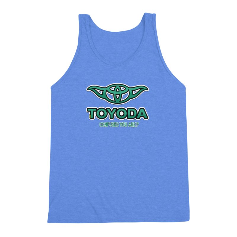TOYODA ... Confused you are? Men's Triblend Tank by mrdelman's Artist Shop