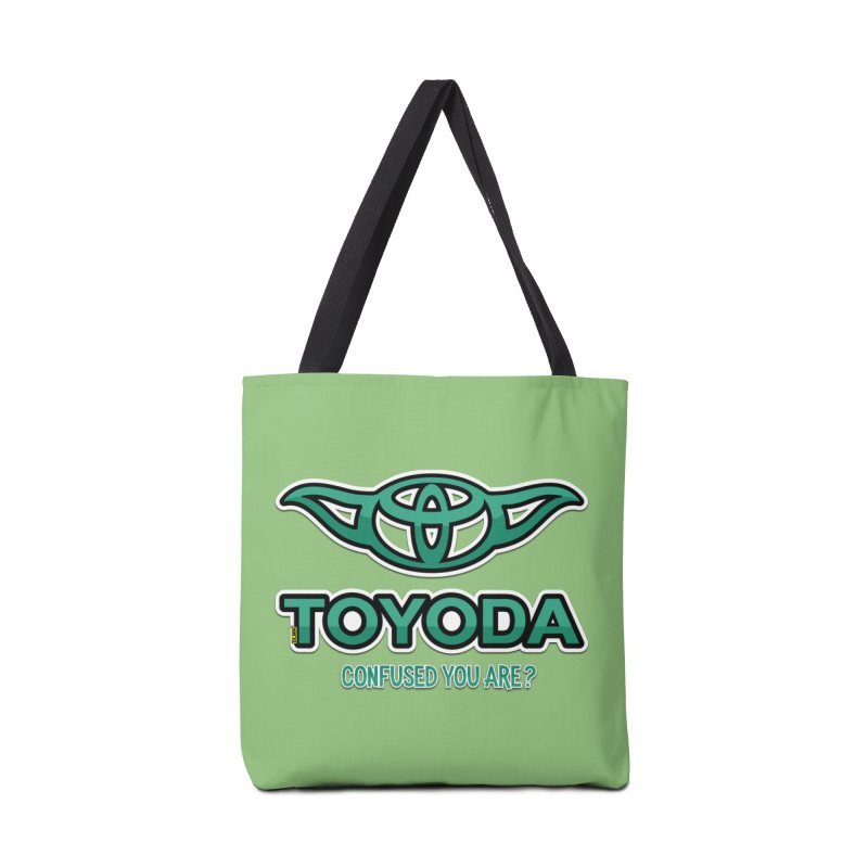 TOYODA ... Confused you are? Accessories Tote Bag Bag by mrdelman's Artist Shop
