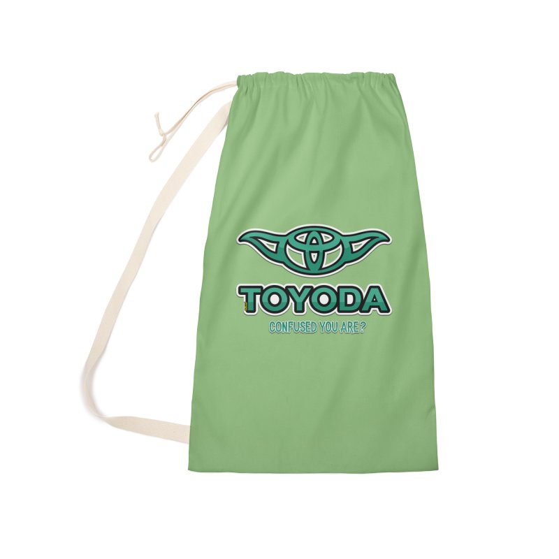 TOYODA ... Confused you are? Accessories Laundry Bag Bag by mrdelman's Artist Shop