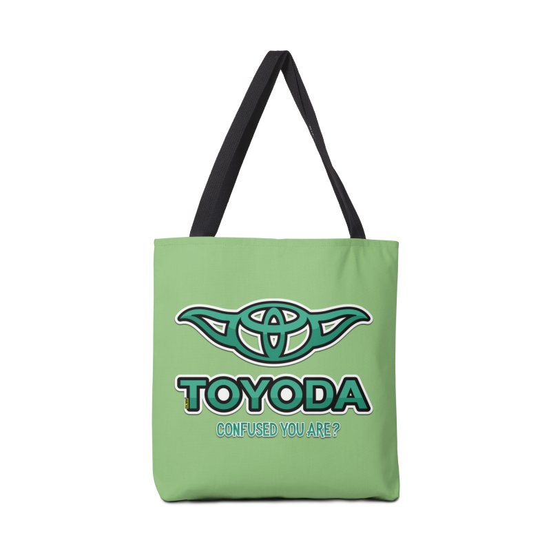 TOYODA ... Confused you are? Accessories Bag by mrdelman's Artist Shop