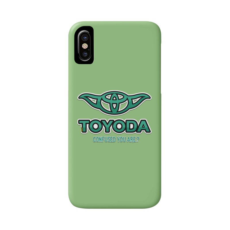 TOYODA ... Confused you are? Accessories Phone Case by mrdelman's Artist Shop