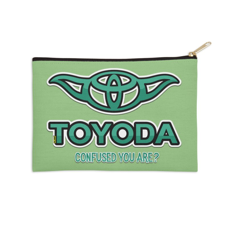 TOYODA ... Confused you are? Accessories Zip Pouch by mrdelman's Artist Shop