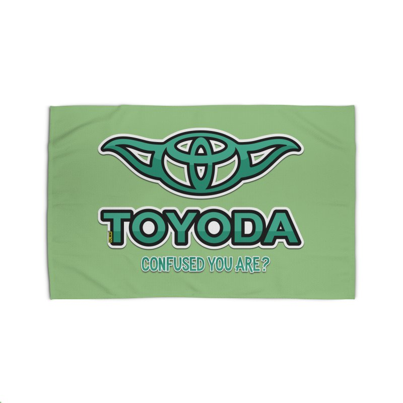 TOYODA ... Confused you are? Home Rug by mrdelman's Artist Shop