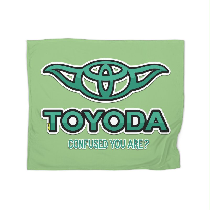 TOYODA ... Confused you are? Home Fleece Blanket Blanket by mrdelman's Artist Shop
