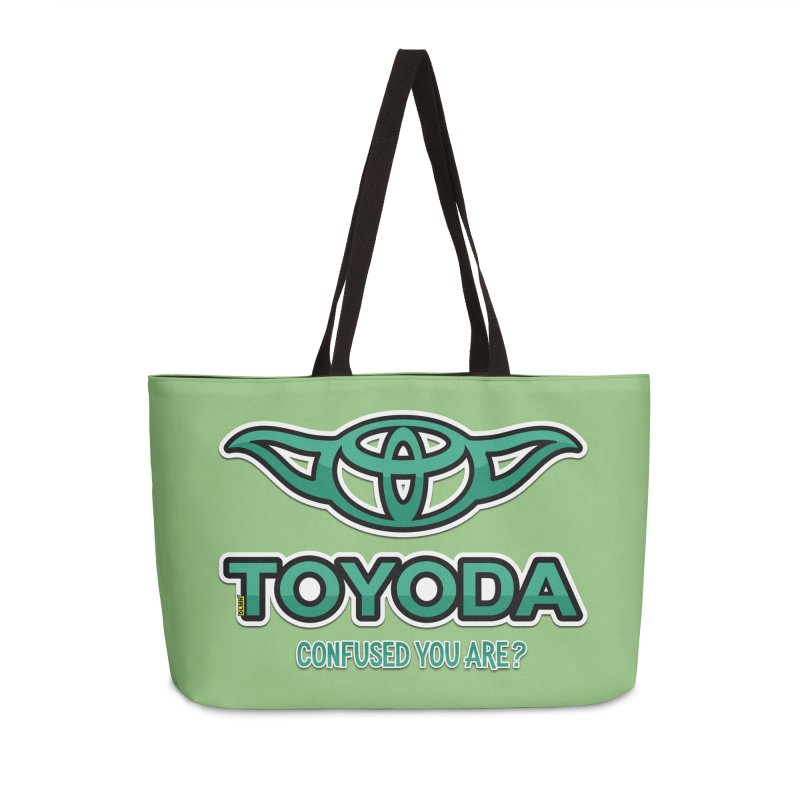 TOYODA ... Confused you are? Accessories Weekender Bag Bag by mrdelman's Artist Shop