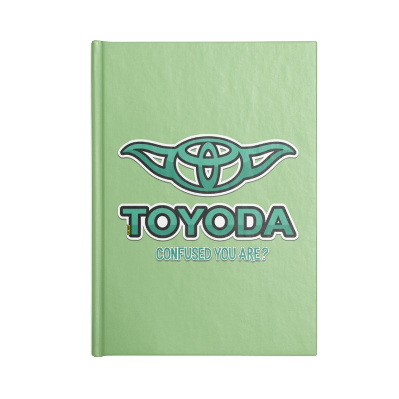 TOYODA ... Confused you are? Accessories Blank Journal Notebook by mrdelman's Artist Shop